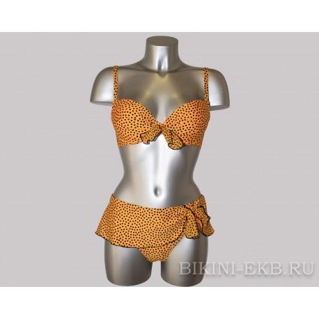Раздельный купальник Antigel Dolce Riva EBA4389 (желтый) / Push-up