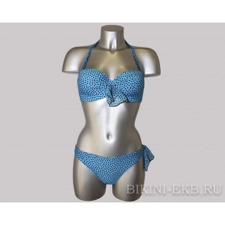 Раздельный купальник Antigel Dolce Riva EBA7189 (голубой) / Бандо