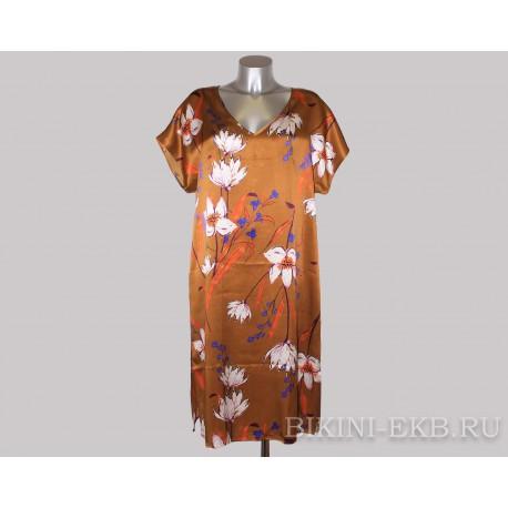 Шелковое платье Oryades Victoria 190221